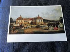 COLLECTABLE POSTCARD WIEN KUNSTHISTORISCHES MUSEUM IMPERIAL CASTLE BELLOTTO